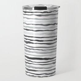 Waves Pattern Travel Mug