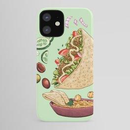 Falafel Mandala iPhone Case