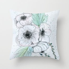 Anemone 2 Throw Pillow
