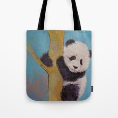 Panda Fun Tote Bag