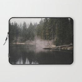 In the Fog - Landscape Photography Laptop Sleeve