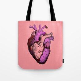 Valentine Anatomy Heart Tote Bag