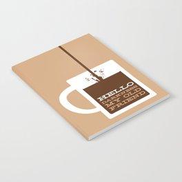 Hello Darkness My Old Friend Notebook