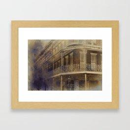 On the Corner of St. Ann & Decatur Framed Art Print
