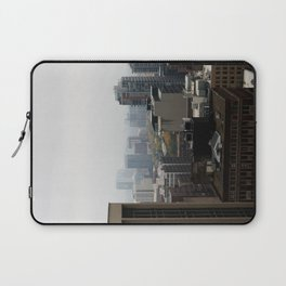 City Buildings Chicago Original Color Photo Laptop Sleeve