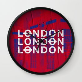 London slap up Wall Clock