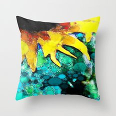 :: Sun Kissed Fate:: Throw Pillow