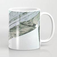 roman Mugs featuring roman Ruin by Upperleft Studios