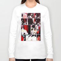 gore Long Sleeve T-shirts featuring The Gore Gore Girls by Zombie Rust