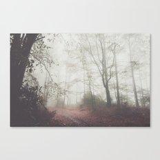 Autumn paths II Canvas Print