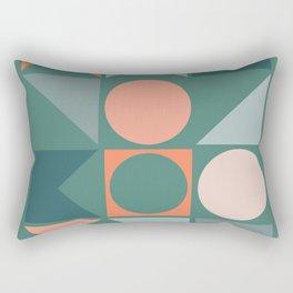 Modern Geometric 22 Rectangular Pillow