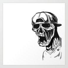 SNAPBACK EDIT Art Print