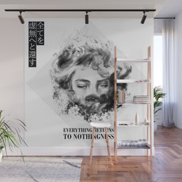 Everything to nothingness Wall Mural