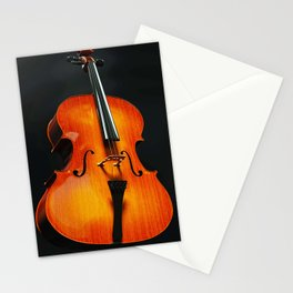 Music in body Stationery Cards