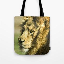 Royal and Regal Lion Tote Bag