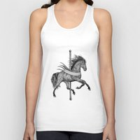 carousel Tank Tops featuring Carousel by Rescue & Ramona