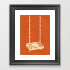 For the Love of Books Framed Art Print