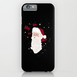 Ho ho ho Santa iPhone Case