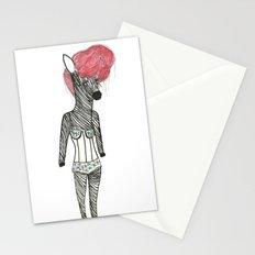 Sexy Zebra Stationery Cards