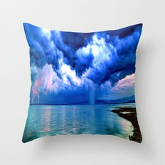 Majestic Rain Throw Pillow