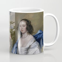 """Sir Anthony van Dyck """"The Cheeke Sisters - Essex, Countess of Manchester, and Anne, Lady Rich"""" Coffee Mug"""