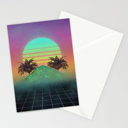 80s love Stationery Cards