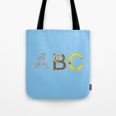 mAY BEE SEE be with you! (blue) Tote Bag