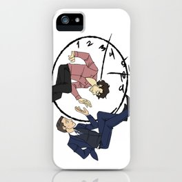Hannibal & Will - Clock iPhone Case