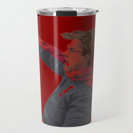 Klopp Celebrating Travel Mug
