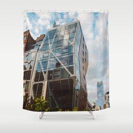 Highline View V Shower Curtain