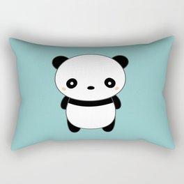 Kawaii Cute Panda Rectangular Pillow