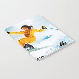 Keep it up, Ski Girl Notebook