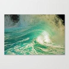 WAVE JOY Canvas Print