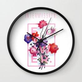 INTERMISSION: flower  Wall Clock