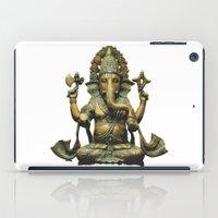 ganesha iPad Cases featuring Ganesha by Justin Atkins