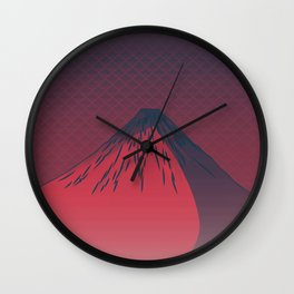 Dark Night Wall Clock