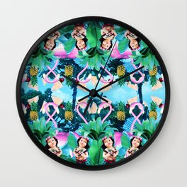 Club tropicana Wall Clock