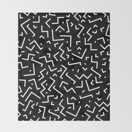 Memphis pattern 31 Throw Blanket