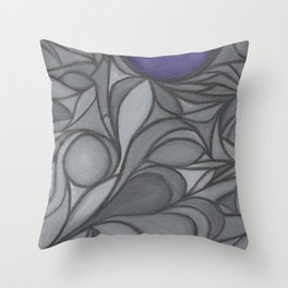 My Indigo Light Throw Pillow
