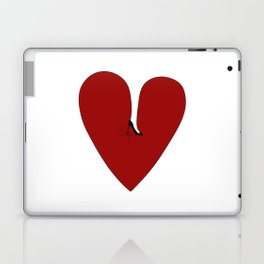 Heel my heart Laptop & iPad Skin