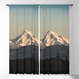 PNW Mount Hood Adventure Blackout Curtain