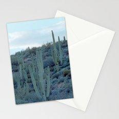 evening cactus Stationery Cards