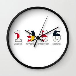 1986 - NAVY - My Year of Birth Wall Clock