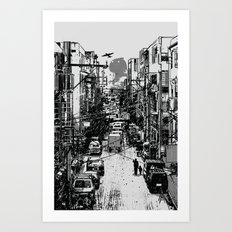 Something In Between Art Print