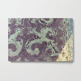Felt Door Mat, Mongolia Metal Print