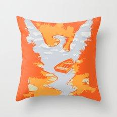 River Phoenix - Autumn Throw Pillow