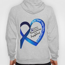 Colon Cancer Suppor Gifts Hoody