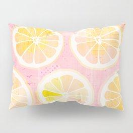 Orange Slices Pastel Fruit Pillow Sham