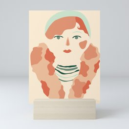 Miss Josephine Mini Art Print