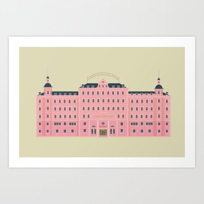Budapest Hotel Kunstdrucke